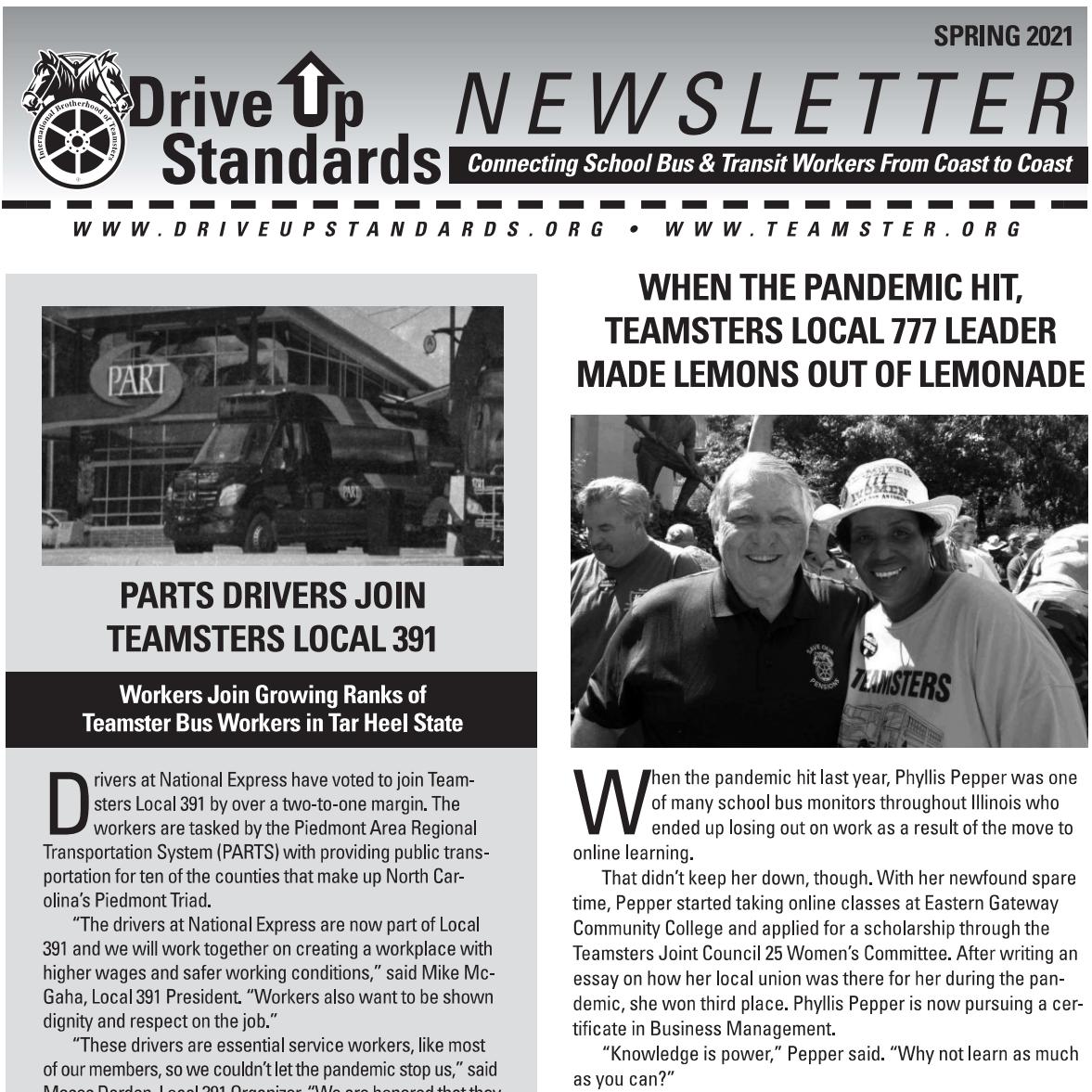 DUS Newsletter Spring 2021 Thumbnail